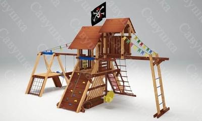 Детская площадка Савушка Lux-11 (фото, вид 1)