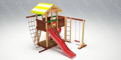 Детская площадка Савушка 18 (фото, вид 1)