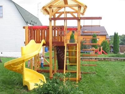 Детская площадка Савушка 18 (фото, вид 4)