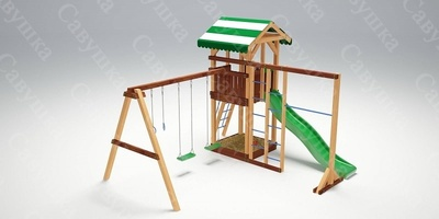 Детская площадка Савушка 6 (фото, вид 1)