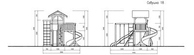 Детская площадка Савушка 6 (фото, вид 2)