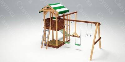 Детская площадка Савушка 6 (фото, вид 4)