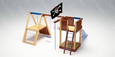 Детская Игровая Площадка Савушка 3 (фото, вид 1)