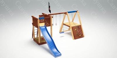 Детская Игровая Площадка Савушка 3 (фото, вид 2)