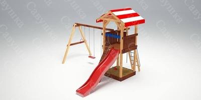 Детская площадка Савушка-5 (фото, вид 1)
