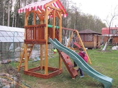 Детская площадка Савушка-5 (фото, вид 3)