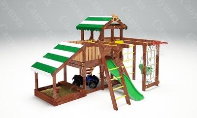 Детская площадка Савушка Baby-13 (Play) (фото, вид 1)