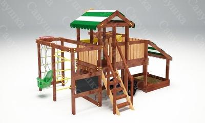 Детская площадка Савушка Baby-13 (Play) (фото, вид 3)