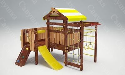 Детская площадка Савушка Baby-7 (Play) (фото, вид 1)