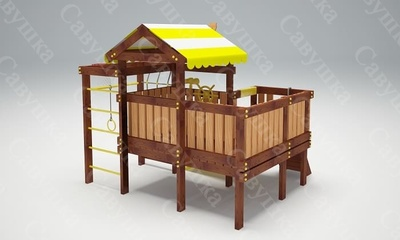 Детская площадка Савушка Baby-7 (Play) (фото, вид 2)