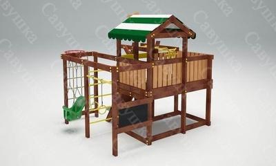 Детская площадка Савушка Baby-5 (Play) (фото, вид 1)