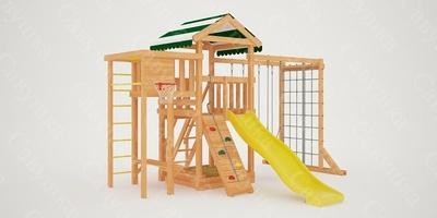 """Детская площадка """"Мастер""""-4 (фото, вид 1)"""