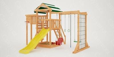 """Детская площадка """"Мастер""""-4 (фото, вид 2)"""