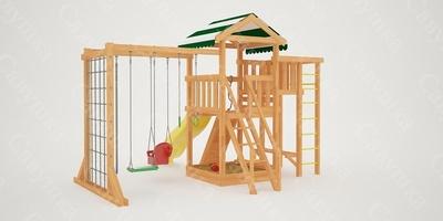 """Детская площадка """"Мастер""""-4 (фото, вид 3)"""