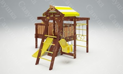 Детская площадка Савушка Baby-2 (Play) (фото, вид 1)