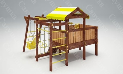Детская площадка Савушка Baby-2 (Play) (фото, вид 3)