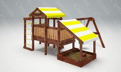 Детская площадка Савушка Baby-12 (Play) (фото, вид 4)
