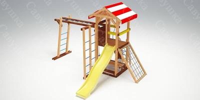 Детская площадка Савушка -10 (фото, вид 2)