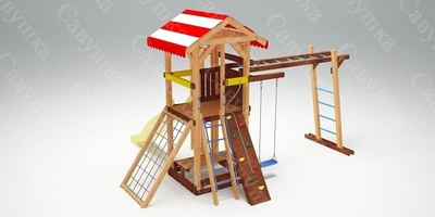Детская площадка Савушка -10 (фото, вид 3)