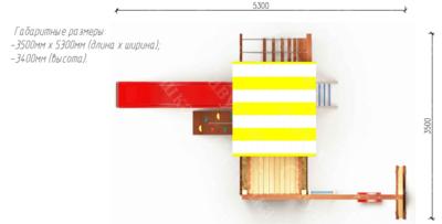 Детский городок Савушка-14 (фото, вид 5)