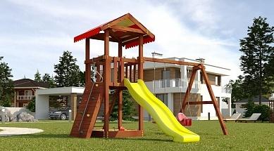 Детская площадка Савушка Классик (фото, вид 1)