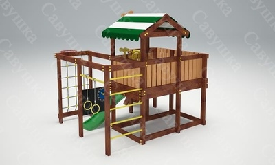 Детская площадка Савушка-Baby - 8 (фото, вид 1)