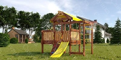 Детская площадка Савушка Baby-3 (Play) (фото, вид 3)