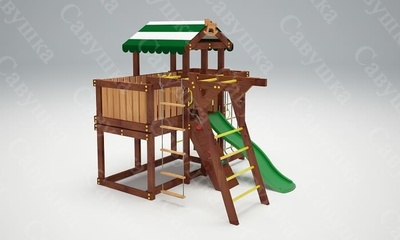 Детская площадка Савушка-Baby - 4 (Play) (фото, вид 1)