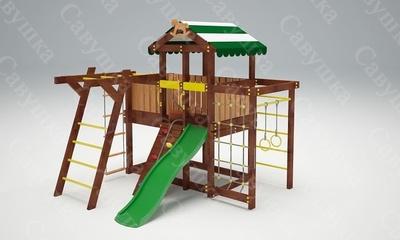 Детская площадка Савушка-Baby - 4 (Play) (фото, вид 2)