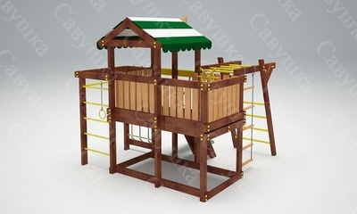 Детская площадка Савушка-Baby - 4 (Play) (фото, вид 3)