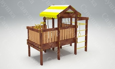 Детская площадка Савушка-Baby - 6 (Play) (фото, вид 3)