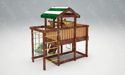 Детская площадка Савушка-Baby - 6 (Play) (фото, вид 4)