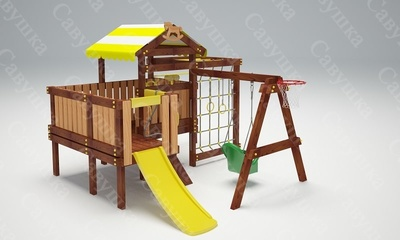 Детская площадка Савушка-Baby - 14 (Play) (фото, вид 1)