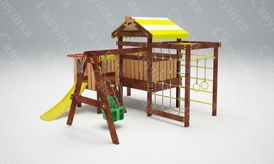 Детская площадка Савушка-Baby - 14 (Play) (фото, вид 2)