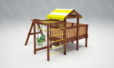 Детская площадка Савушка-Baby - 14 (Play) (фото, вид 3)
