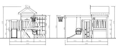 Детская площадка Савушка-Baby - 14 (Play) (фото, вид 4)