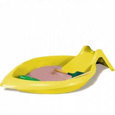 Песочница Песочница-бассейн с горкой (фото, вид 3)