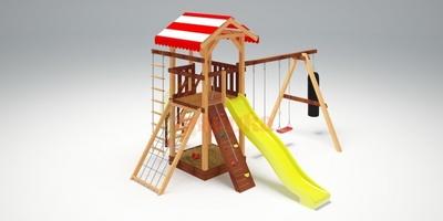 Детская площадка Савушка-4 (фото, вид 1)