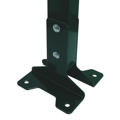 Комплект из 2-х оснований для столба зеленый