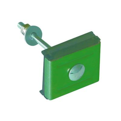 Крепление (скоба+болт М6*85) зеленый