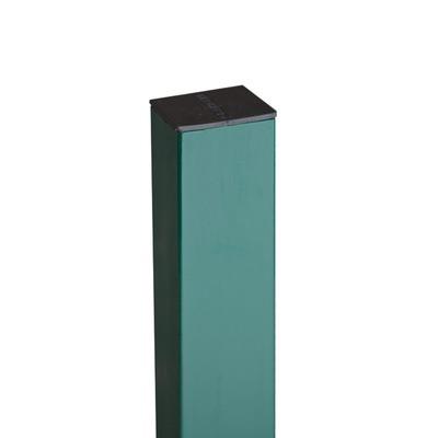 Столб 65*55*2000мм зеленый