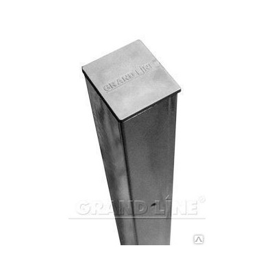 Столб 65*55*2500мм цинк