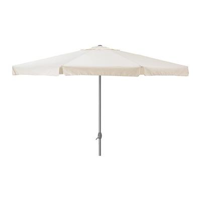 Зонт белый прямой 4м