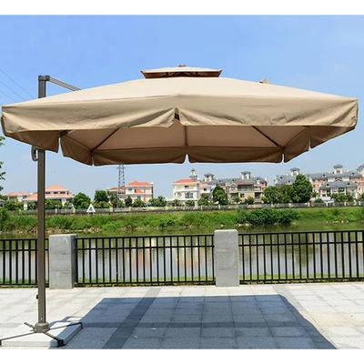Зонт Элит 3,3*2,4м боковой (фото)