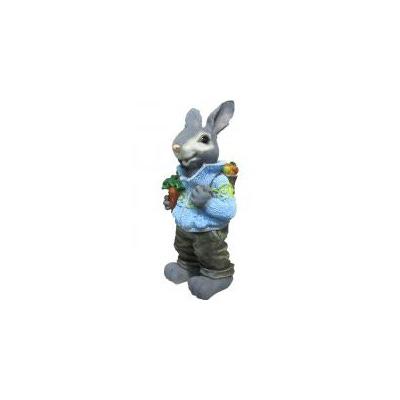 Заяц с морковкой В-45см