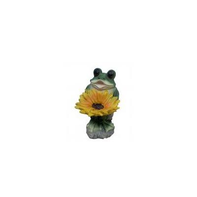 Лягушонок с цветком В-33см