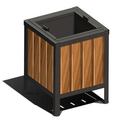 Урна деревянная маленькая П-3