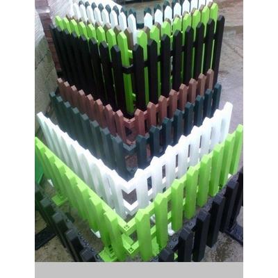 Заборчик пластиковый (фото)