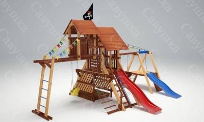Детская площадка Савушка Lux-11 (фото)