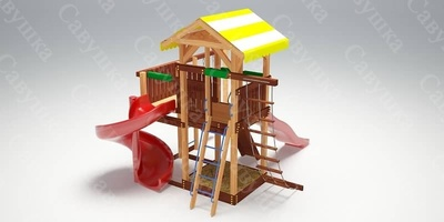 Детская площадка Савушка 18 (фото)